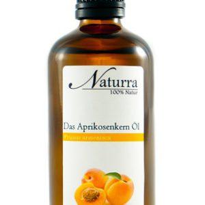 Das Aprikosenkern Öl 100ml Glas Flasche