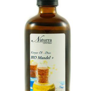 Das Mandelöl DUO 100ml Flasche lichtgeschütztes Glas