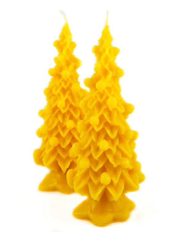 2 naturra 100 imker bienenwachs kerzen weihnachtsbaum. Black Bedroom Furniture Sets. Home Design Ideas