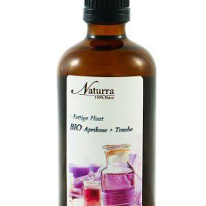 Naturra BIO Körperöl DUO Spezial bei fettiger Haut 100ml lichtgeschützte Glasflasche