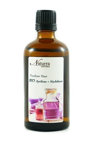 Naturra BIO Körperöl DUO Spezial bei trockener Haut 100ml lichtgeschützte Glasflasche